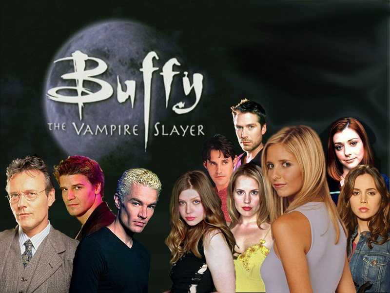 The full cast of Buffy the Vampire Slayer