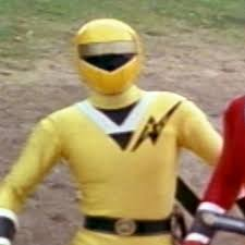 Tideus Morphed As The Yellow Alien Ranger