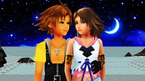 Tidus and Yuna Kingdom Hearts II