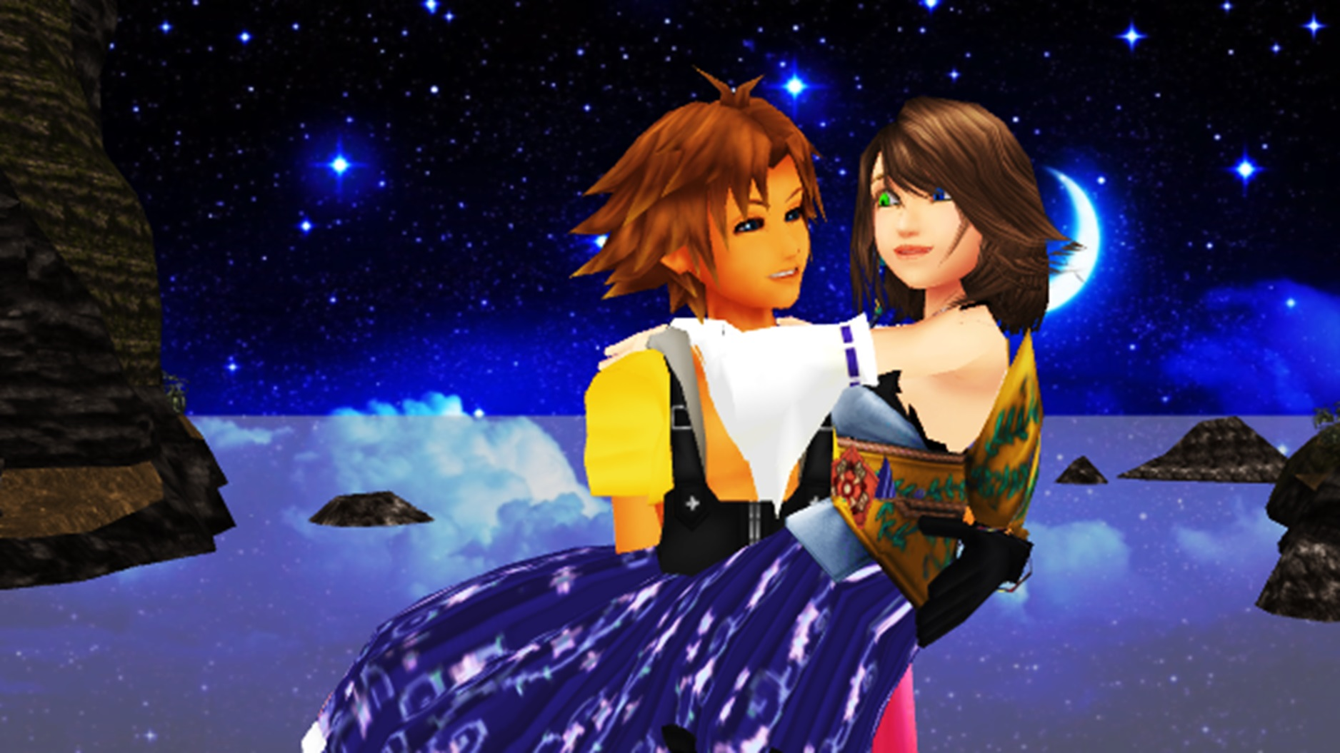 Final Fantasy X images Tidus and Yuna HD wallpaper and background