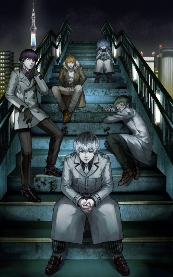 Tokyo Ghoul:re The Quinx Squad