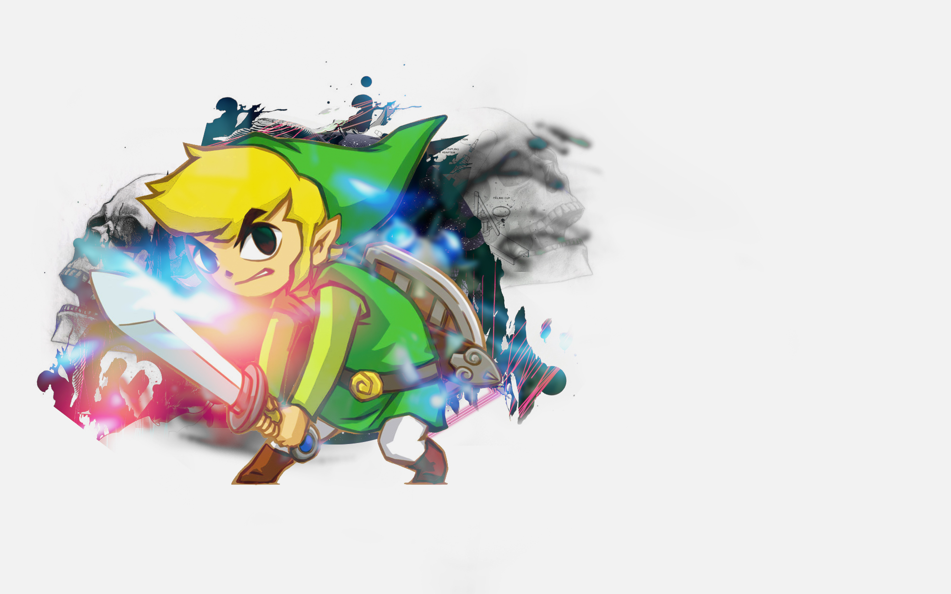 Die Legende Von Zelda Bilder Toon Link Hd Hintergrund And Background