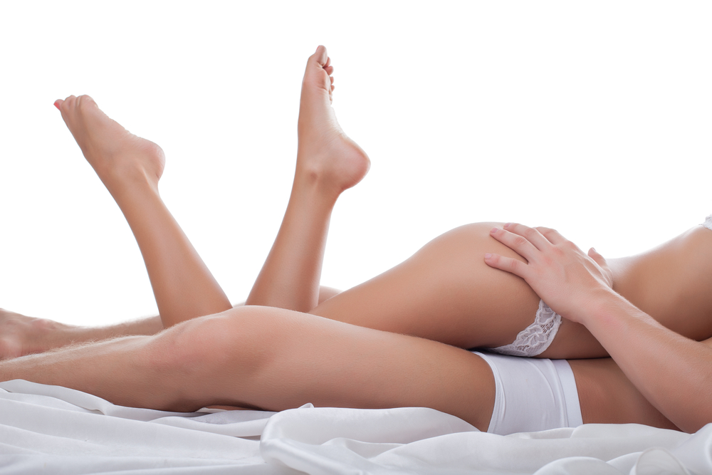 Touching the butt