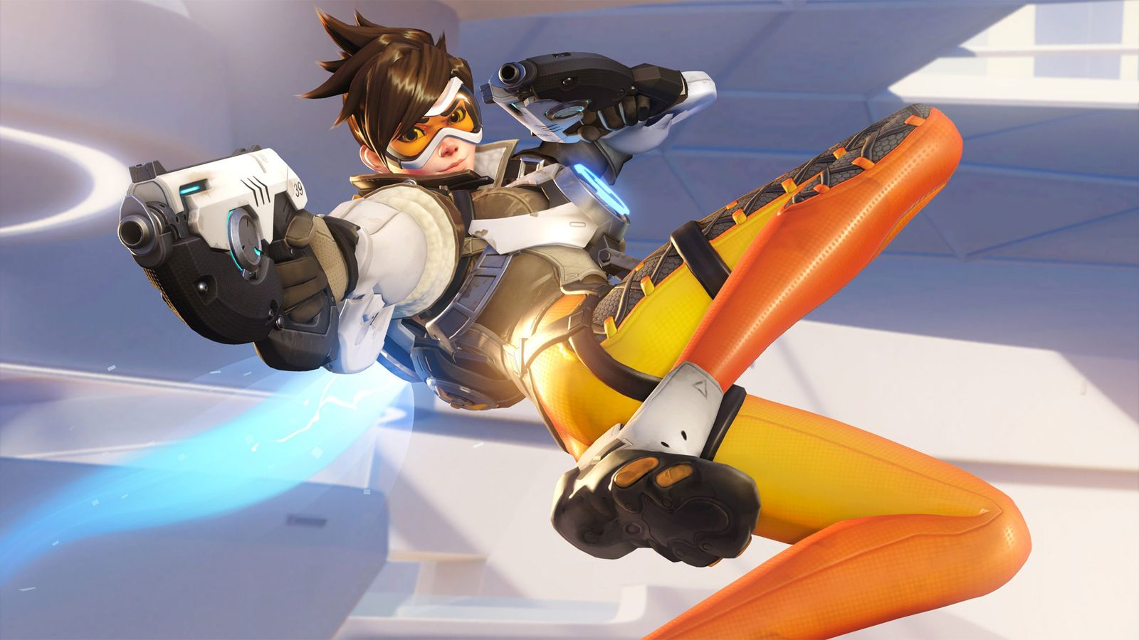 Blizzard S Overwatch Images Tracer Hd Wallpaper And Background