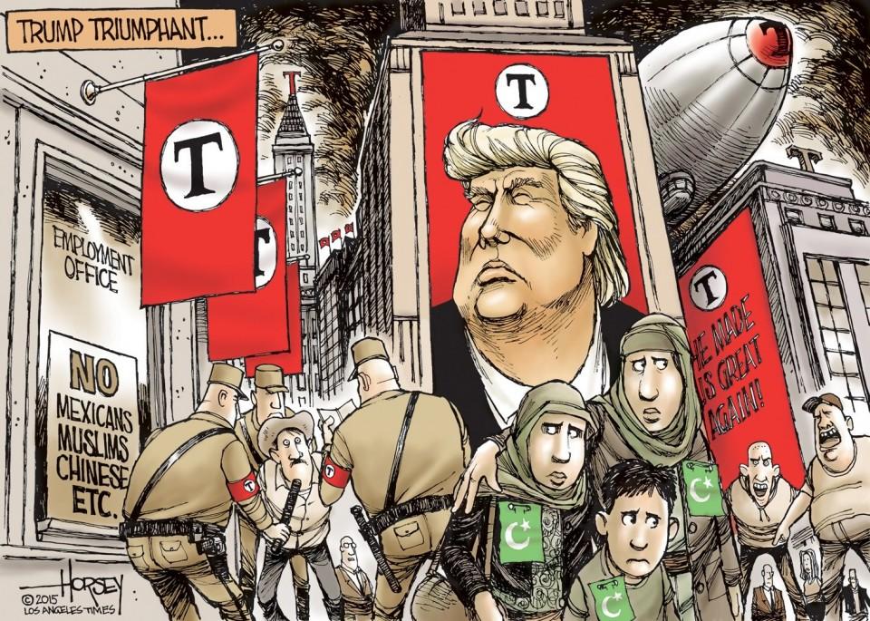 Resultado de imagem para trump cartoons