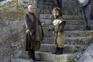 Tyrion Lannister and Varys