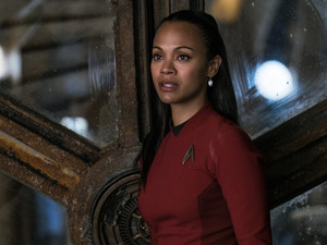 Uhura in bituin Trek Beyond