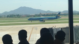 Vietnam Airlines A321 at NIA