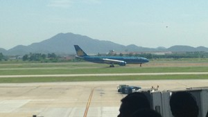 Vietnam Airlines A330 at NIA