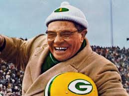 Green baya Packers wolpeyper entitled Vince Lombardi