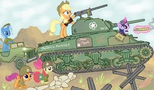 WW2 Ponies