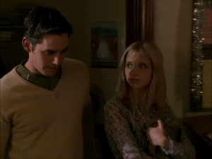 Xander and Buffy 2