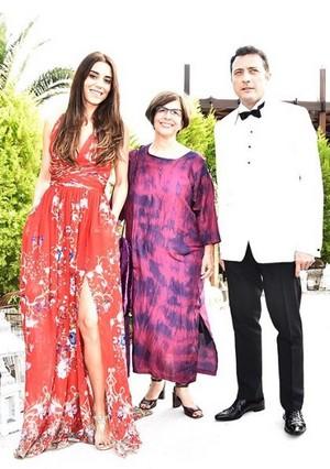 Yigit Ozsener and Cansu Dere