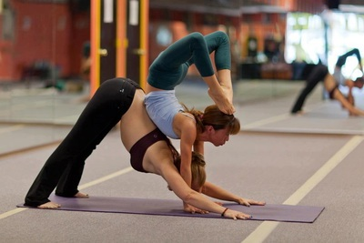 Yoga and contortion