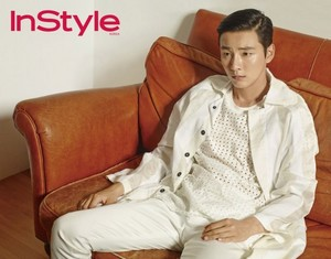 Yoon Si Yoon for 'InStyle'