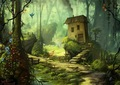 a home in the green by jeremiah morelli - fantasy photo