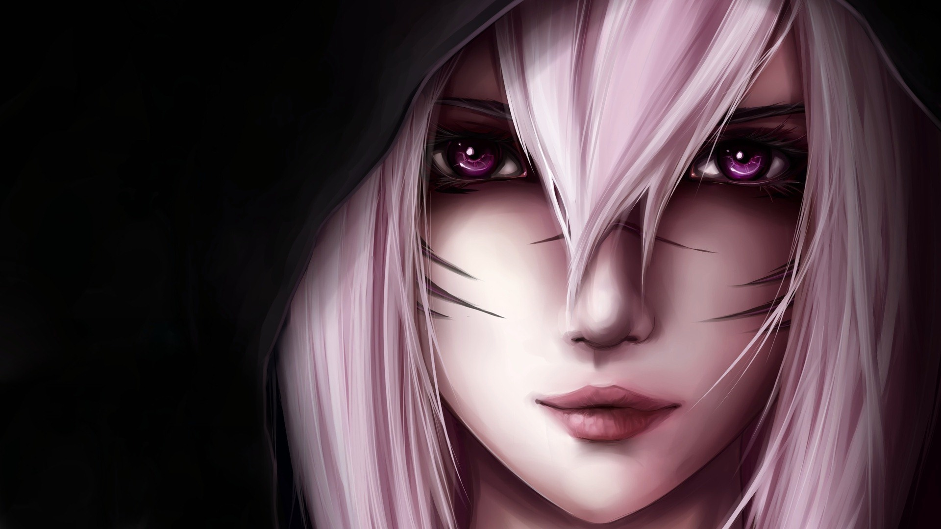 erin007 images beautiful pink eyes anime girl images hd wallpaper