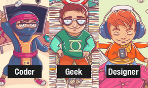 code geek designer
