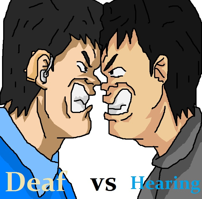 deaf vs hearing fight world new