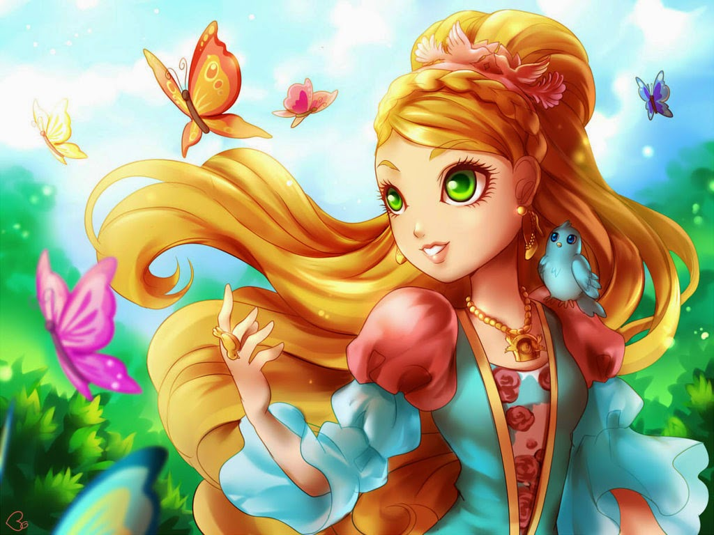 Ever after high wallpaper probably containing anime titled fan art deviant art 1