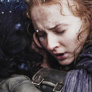 Jon Snow & Sansa Stark