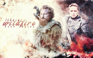Tormund Giantsbane & Brienne of Tarth