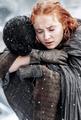 Jon Snow & Sansa Stark - game-of-thrones fan art