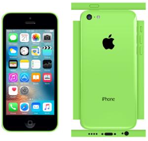 iPhone 5c Papercraft Green (iOS 9)