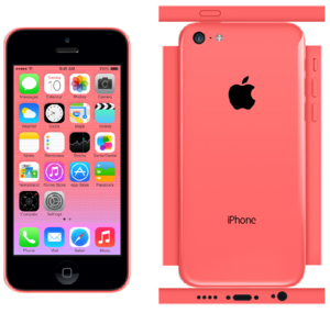 iPhone 5c Papercraft rosado, rosa