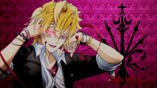Diabolik Lovers achtergrond with anime entitled image