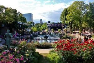 inside tivoli gardens