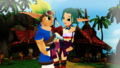jak and keira hagai in sandover village  - jak-and-daxter photo