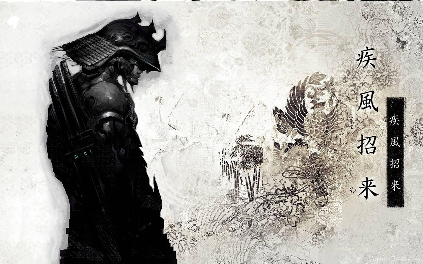 Japan samurai 1680x1050 Hintergrund 1684059