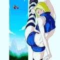 kickin ass android 18