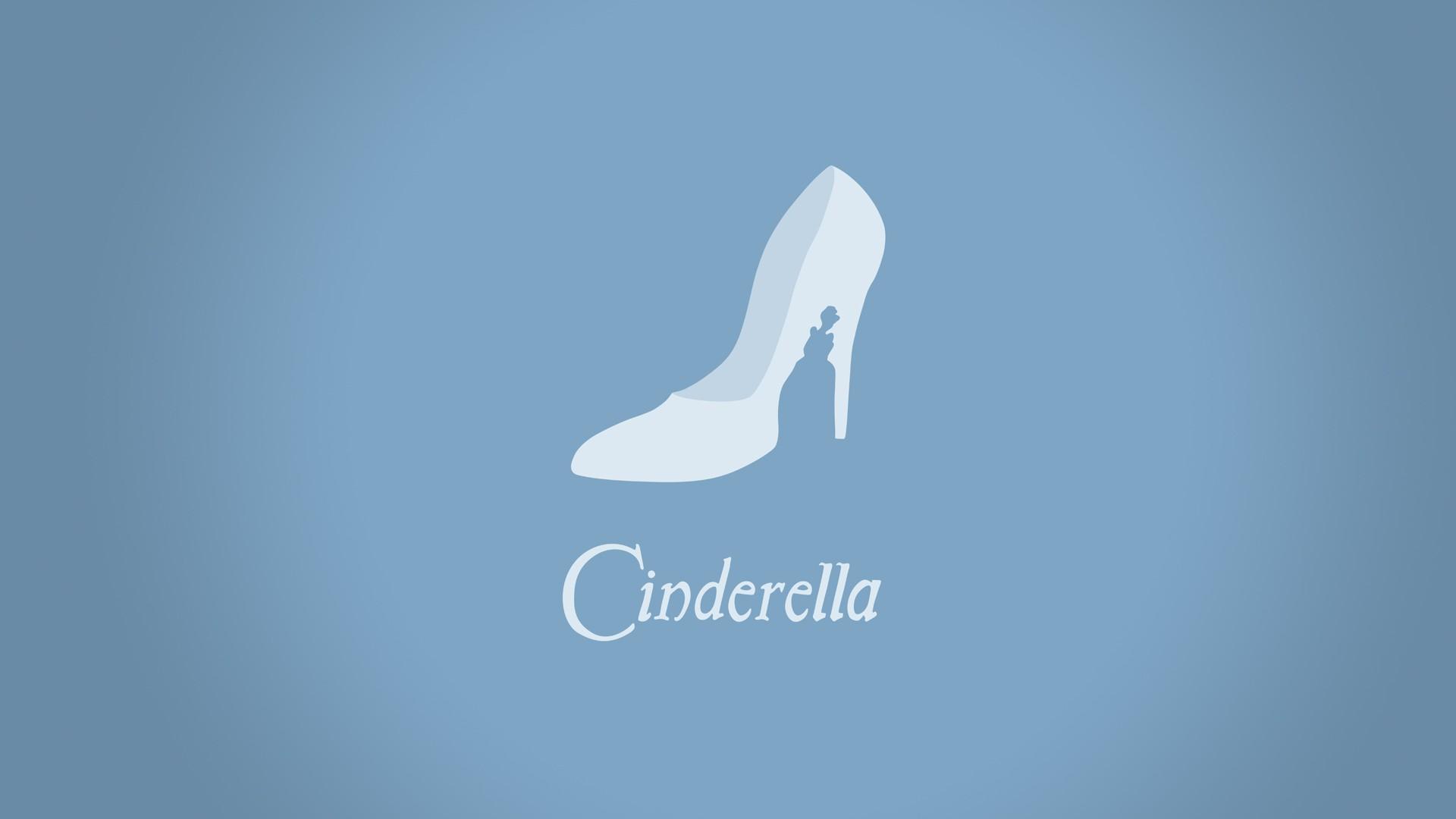 minimalistic cinderella hd wallpape