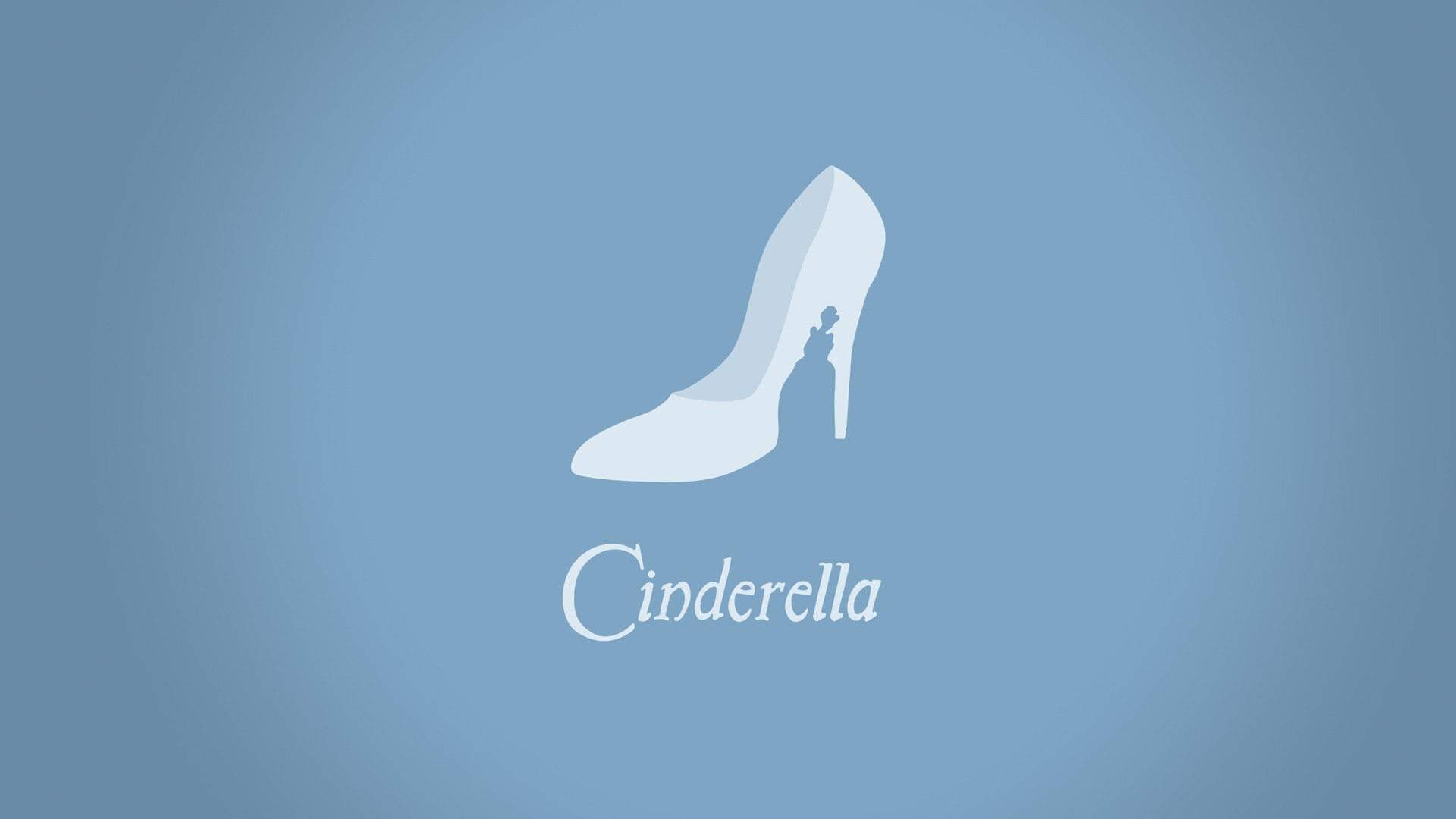 minimalistic Cenerentola hd wallpaper