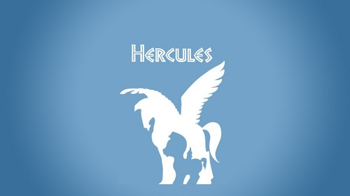 Disney wallpaper titled minimalistic hercules