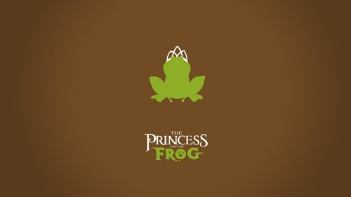 Disney karatasi la kupamba ukuta possibly containing a laptop entitled minimalistic princess and the frog