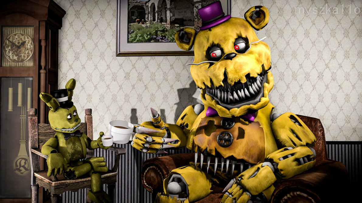Plushtrap Images Nightmares Hd Wallpaper And Background Photos