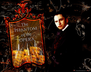 phantom of the opera wallpaper por soffl