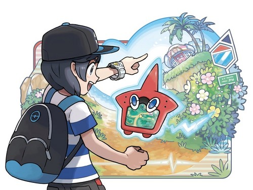 Pokémon wolpeyper possibly with anime entitled rotom dex