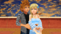 roxas and namine are together in station plaza
