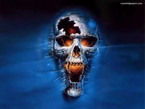 scary skull wallpaper skulls 8007343 1024 768