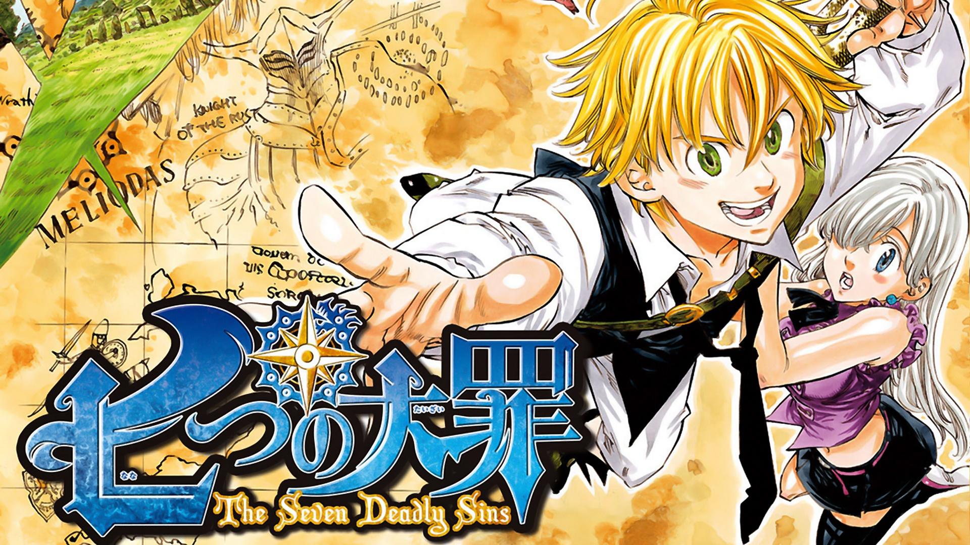 seven deadly sins Anime meliodas elizabeth 1920x1080