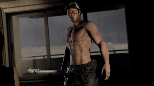 Left 4 Dead 2 fond d'écran titled shirtless ellis par nomnom09 d4jdc47