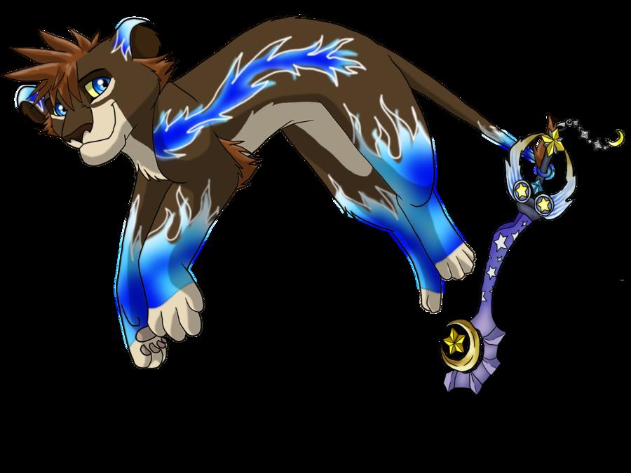 Lion Sora From Kingdom Hearts 2 images sora lion wisdom form by ...