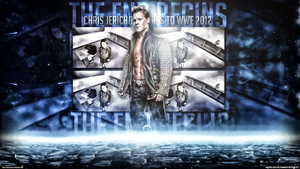 the end begins chris jericho wallpaper oleh phenomenongfx d5q5u31