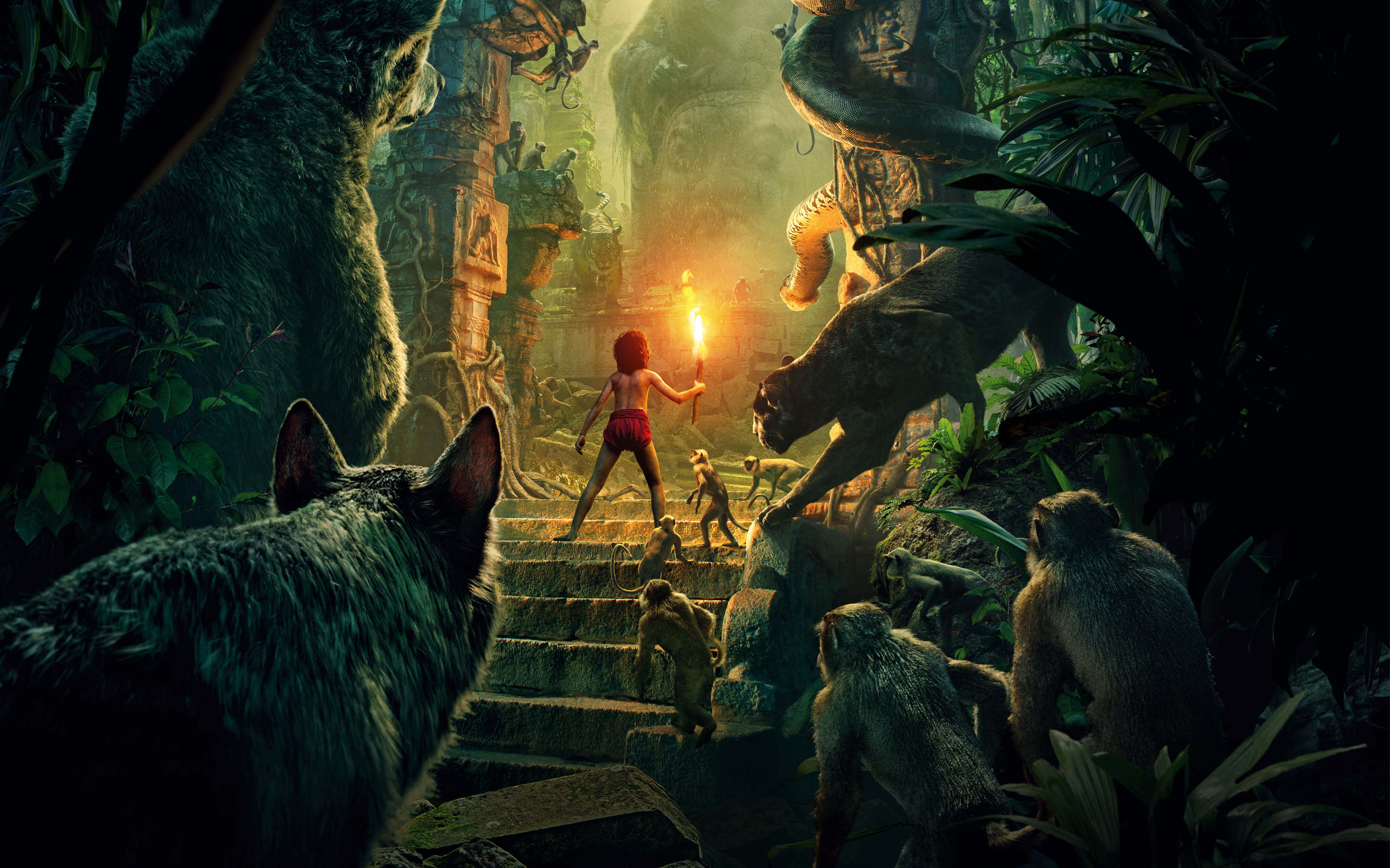the jungle book movie wide Обои 51832 53537 hd Обои