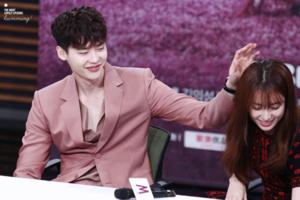 """[18.07.2016] Lee Jong Suk @ """"W-Two Worlds"""" Presscon"""