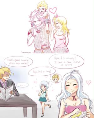 (AU) NaLu, MiraXus, Sting, and Yukino